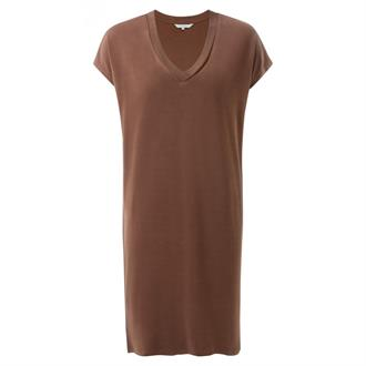Basic V-neck dress Yaya