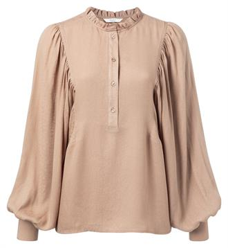 Blouse with puff sleeves Yaya