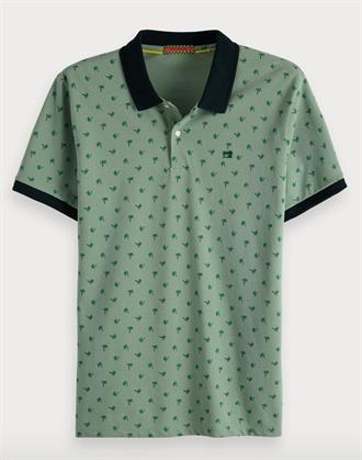 Classic clean pique polo with all-o Scotch&Soda