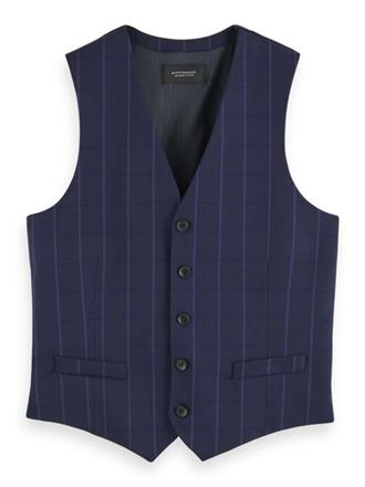 Classic yarn-dyed structured gilet Scotch&Soda