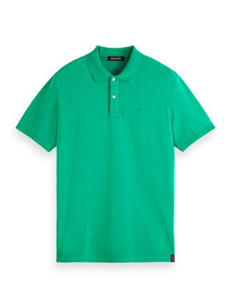 Garment-dyed stretch pique polo Scotch&Soda