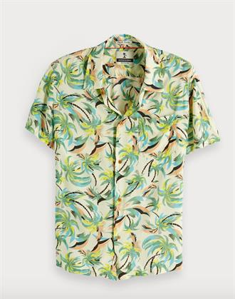 HAWAIIAN FIT - Printed shortsleeve Scotch&Soda