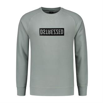 Logo Crew Peached Sweat DSTREZZED