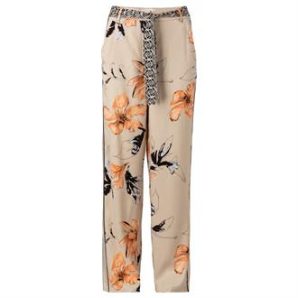 Loose fit trousers with print Yaya