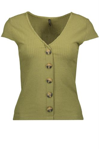 ONLNELLA S/S BUTTON TOP JRS Bestseller Benelux