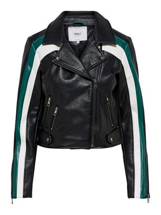 onlSOLEI FAUX LEATHER BLOCKED BIKER Bestseller Benelux