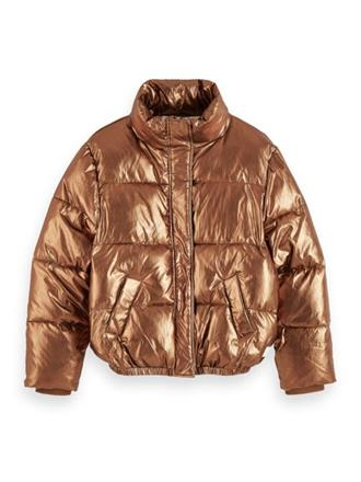 Padded metallic jacket Scotch&Soda