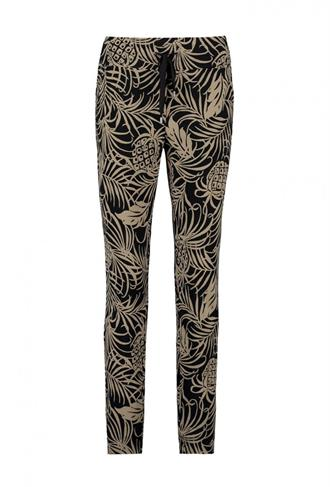 PANTS 7/8 TRAVEL PRINT Expresso