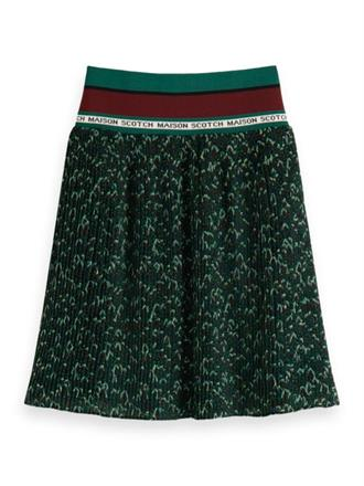 Pleated skirt with ribbed waistband Scotch&Soda