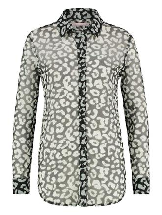 POPPY BIG LEOPARD MESH BLOUSE Studio Anneloes