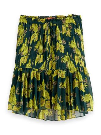 Printed skirt with pleats Scotch&Soda