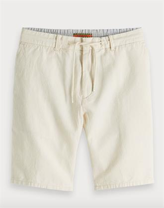Relaxed linen short with elasticate Scotch&Soda