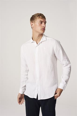 Shirt cut away collar Linen DSTREZZED