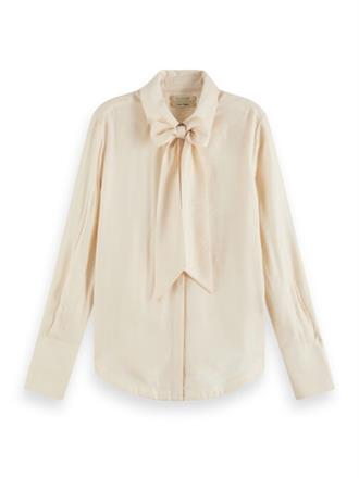 Shirt with bow at neck Scotch&Soda