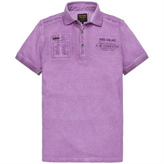 Short sleeve polo Light pique Just Brands