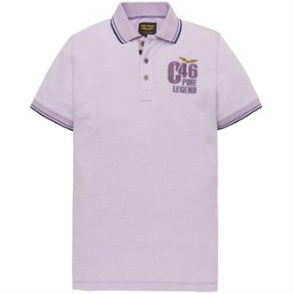 Short sleeve polo Two tone pique Just Brands