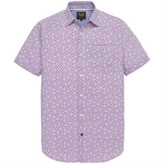 Short Sleeve Shirt Chambray Print Just Brands
