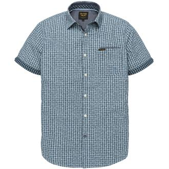 Short Sleeve Shirt Check Print Burl Just Brands
