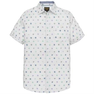 Short Sleeve Shirt Fil Coupe Luca Just Brands