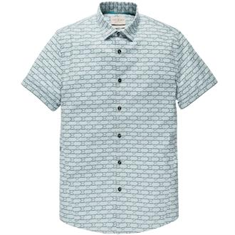 Short Sleeve Shirt MESHCLOTH PRINT Just Brands