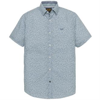 Short Sleeve Shirt Poplin Print Ke Just Brands