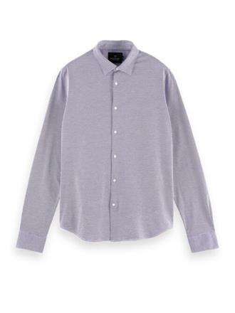 SLIM FIT - Classic knitted shirt Scotch&Soda