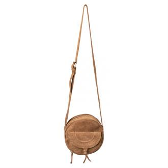 SMALL SUEDE SHOULDER BAG Yaya