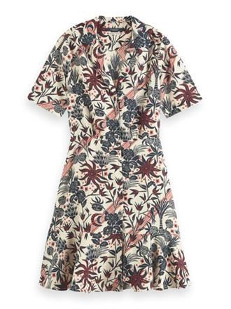 Summer shirt dress in allover print Scotch&Soda