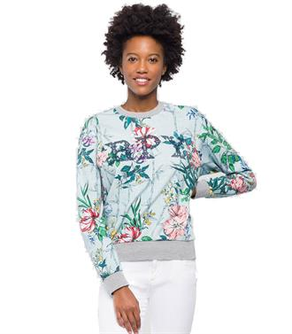 Sweater flowers print Replay