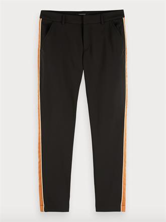 Tailored stetch pants with contrast Scotch&Soda
