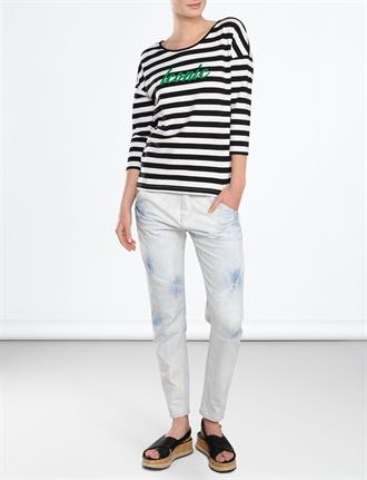 top iconic two tone stripe SUMMUM