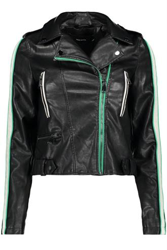 VMINA SHORT FAUX LEATHER JACKET Bestseller Benelux