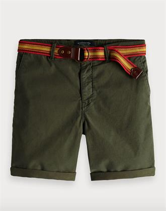 Washed chino short Scotch&Soda